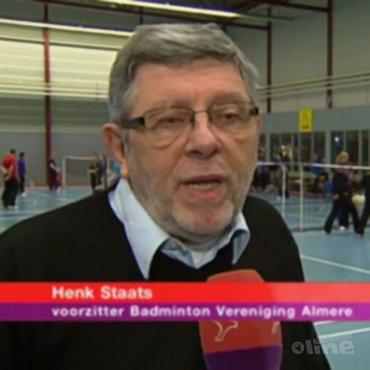 Henk Staats in interview met Omroep Flevoland