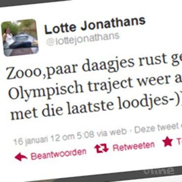 Lotte Jonathans tóch door met Paulien van Dooremalen?