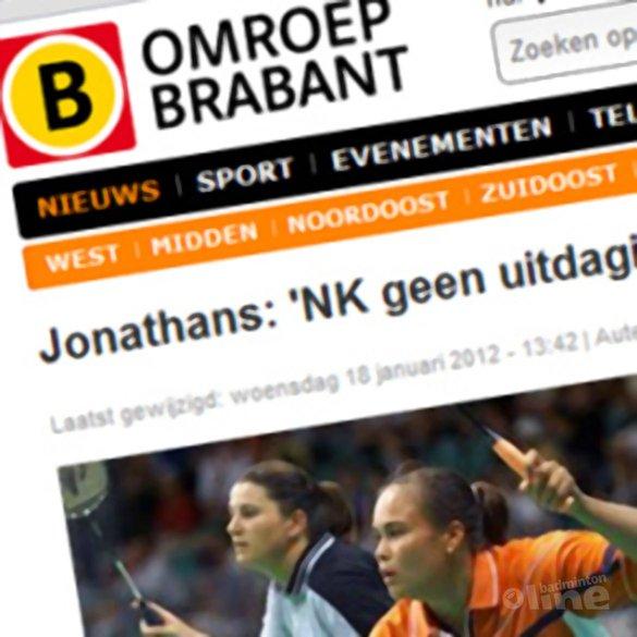 Jonathans: 'NK geen uitdaging, focus op Spelen blijft' - Omroep Brabant
