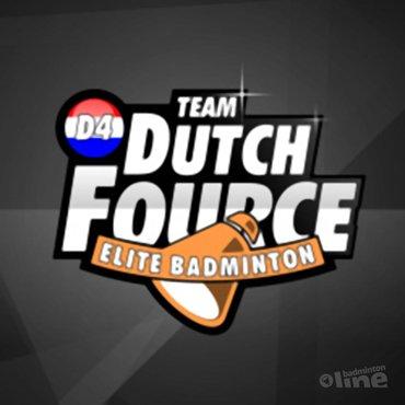 De vier toppers van TEAM Dutch Fource vertegenwoordigen Nederland tijdens EK Amsterdam