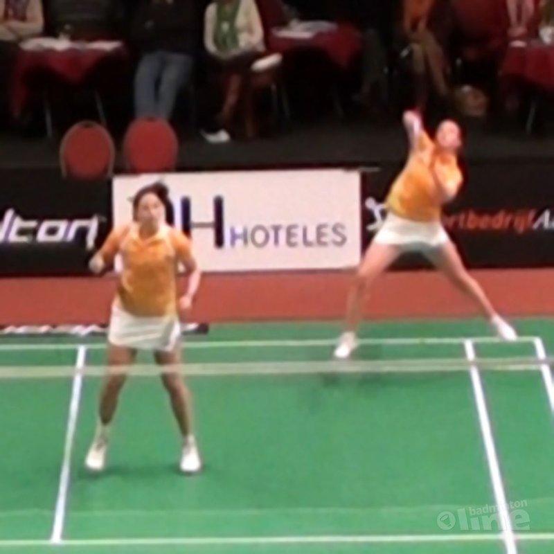Eefje Muskens: 'Nederlands Kampioen vrouwendubbel!' - Alex van Zaanen