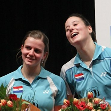 Samantha Barning: 'Runner Up Damesdubbel NK 2012!'