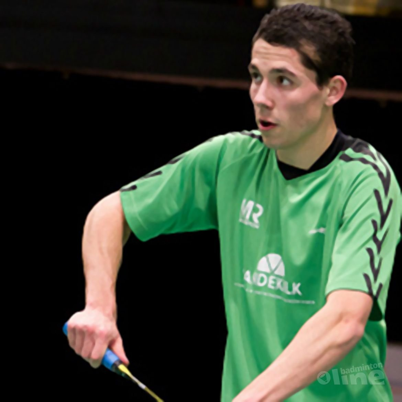 Erik Meijs net te laat om voor België uit te komen op het EK
