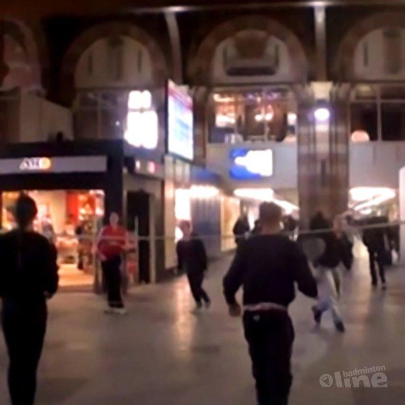 EK Badminton flashmob in Amsterdam weergaloos succes! - Alex van Zaanen