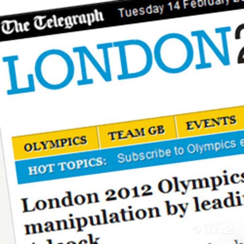 Deze afbeelding hoort bij 'London 2012 Olympics: Chinese accused of match manipulation by leading British doubles player Chris Adcock' en is gemaakt door The Telegraph