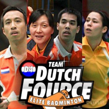 Spelers TEAM Dutch Fource spelen professioneel EK