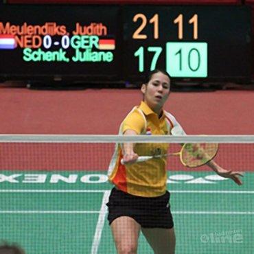 Judith Meulendijks Most Valuable Player van het EK Landenteams in Amsterdam