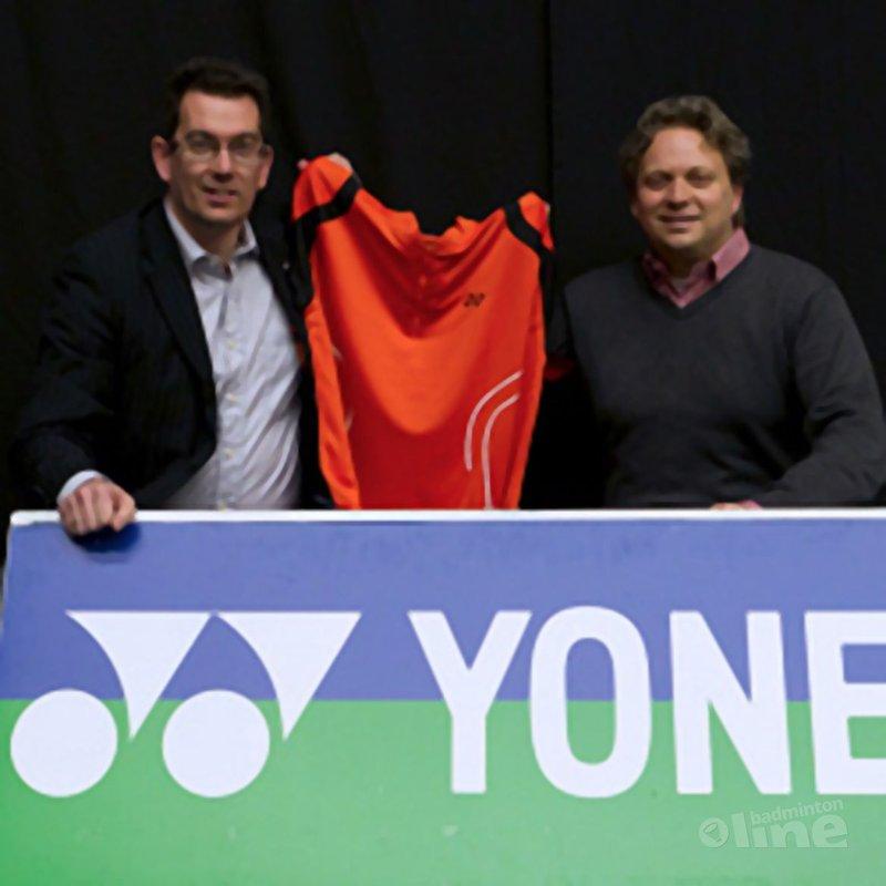 Yonex en Duinwijck sluiten driejarig sponsorcontract - René Lagerwaard