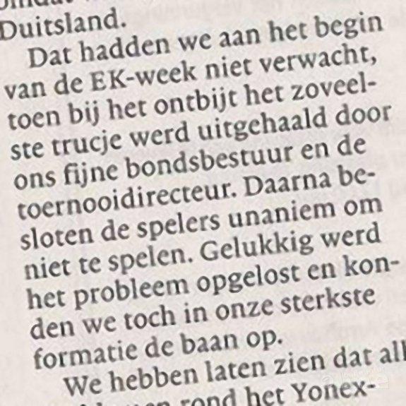 Koen Ridders 'FUCK YOU'-momentje naar Badminton Nederland - Haarlems Dagblad