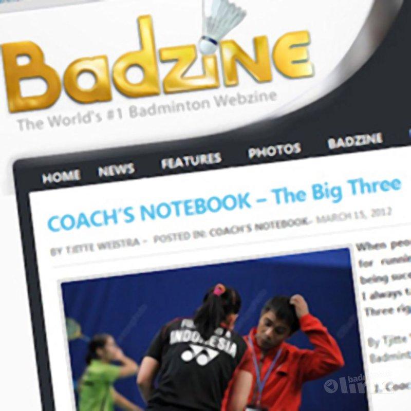 Coach Tjitte Weistra: 'The Big Three' - Badzine