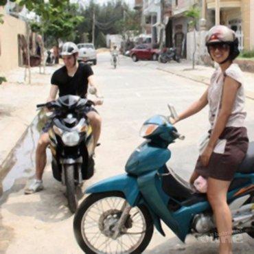 Eerste dag in Vietnam voor Erik Meijs