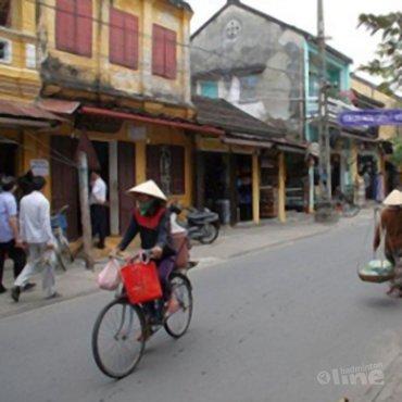 Tweede dag in Vietnam: speedtraining