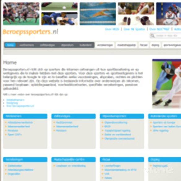 Website Beroepssporters.nl gelanceerd - Beroepssporters.nl