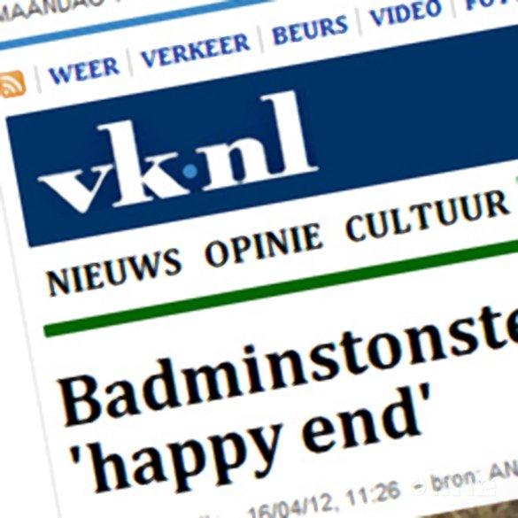 Volkskrant: Badmintonster Jonathans hoopt op olympisch 'happy end' - René Lagerwaard