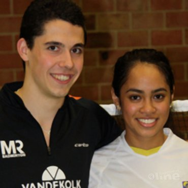 Erik Meijs en Gayle Mahulette winnen Conquesto Master toernooi