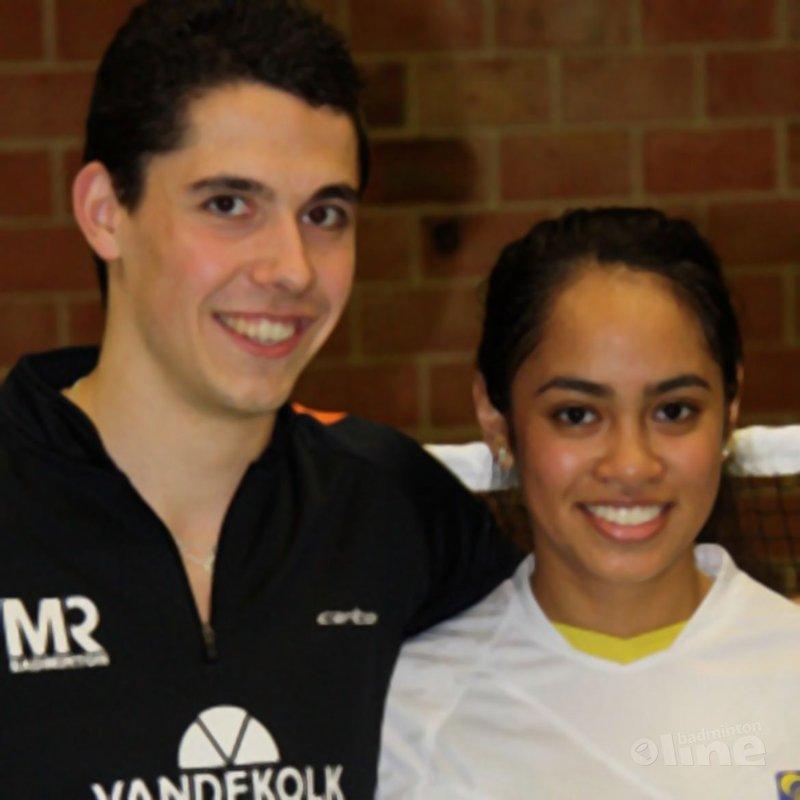 Erik Meijs en Gayle Mahulette winnen Conquesto Master toernooi - Stef Meijs