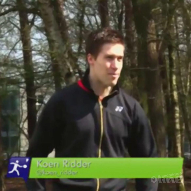 Jesse Moerkerk kletst met Ruud en Koen bij over badminton