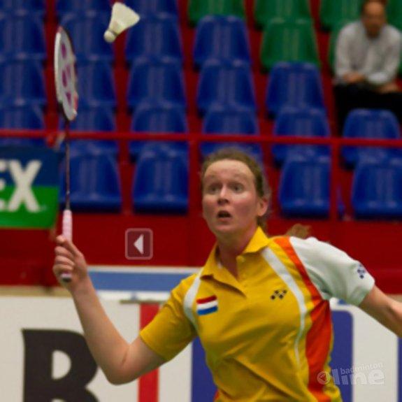 Deze afbeelding hoort bij 'Patty Stolzenbach slaat in China winnende punt binnen: 2-3 overwinning op Taiwan' en is gemaakt door René Lagerwaard