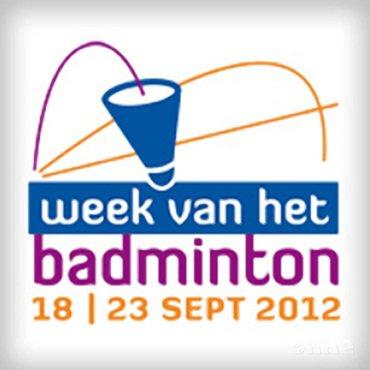 Seizoensopening 2012-2013: 'Week van het Badminton'