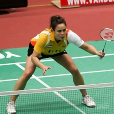 Lotte Jonathans ambassadeur van Week van het Badminton
