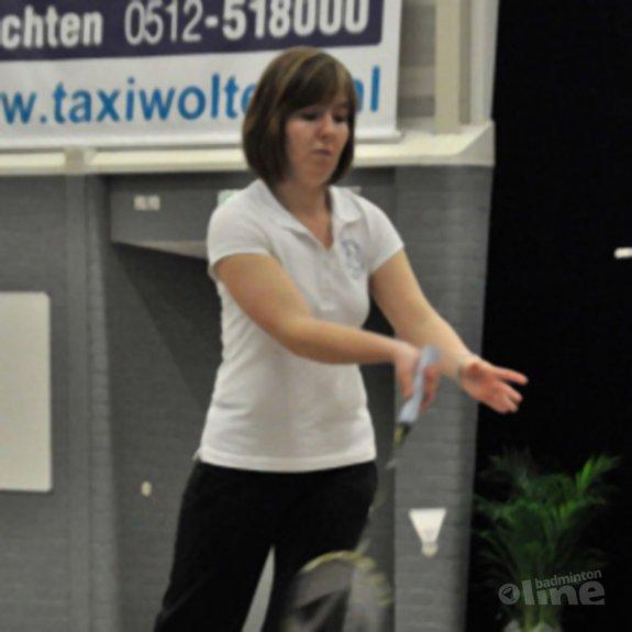 Deze afbeelding hoort bij 'Anouk Meijs: 'In het aangepast badminton gunnen we elkaar veel!'' en is gemaakt door Anouk Meijs