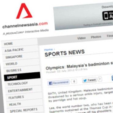 Olympics: Malaysia's badminton star Lee recovers on diet of porridge
