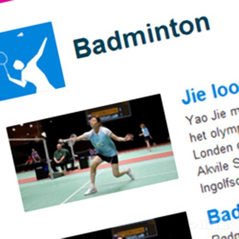 NOS-verslaggever Mark Brasser geeft Badminton Nederland veeg uit de pan - NOS Sport