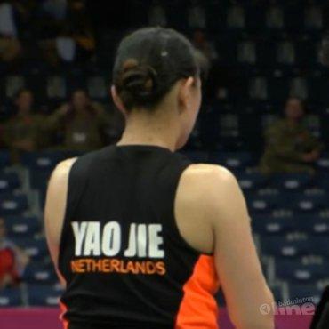 Jie speelt vanavond haar achtste finale