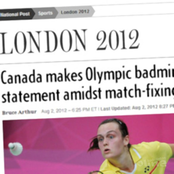 Canada makes Olympic badminton statement amidst match-fixing scandal - National Post