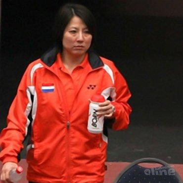 Bondscoach Huaiwen Xu stopt bij Badminton Nederland