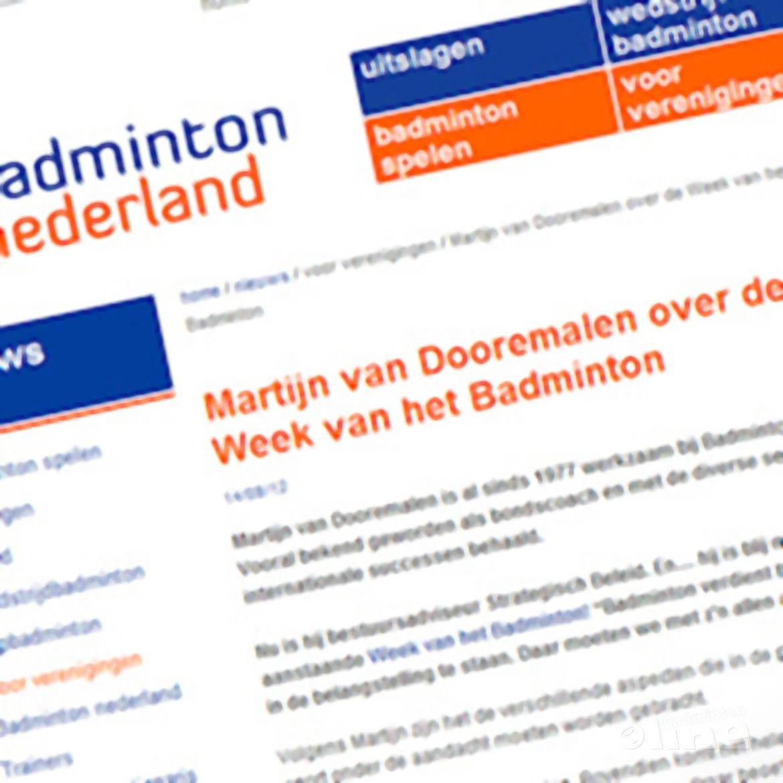 Martijn van Dooremalen over de Week van het Badminton