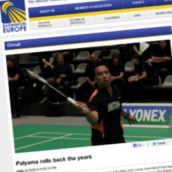 Palyama rolls back the years - Badminton Europe