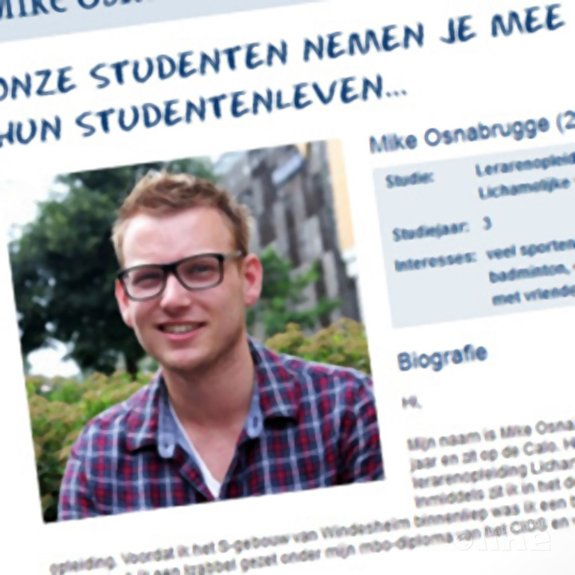 Mike Osnabrugge: 'Snie-sna-snotter...' - Windesheim