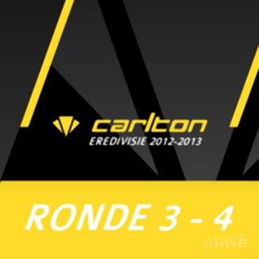 Carlton Eredivisie 2012-2013 - speelronde 3 en 4