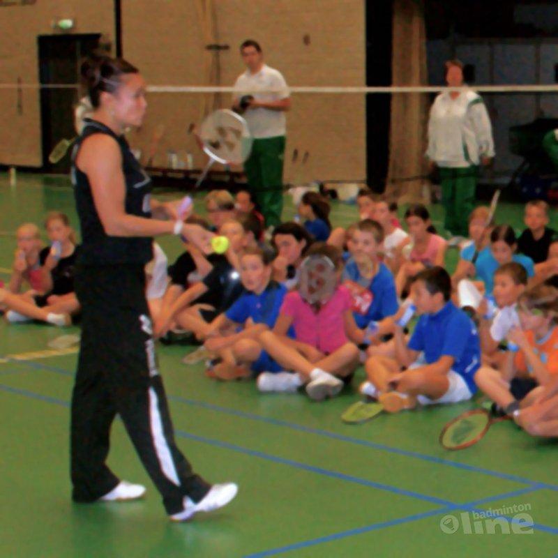 Groene Ster in Zevenbergen: 'Bezoek Lotte Jonathans was groot succes' - Badminton Groene Ster