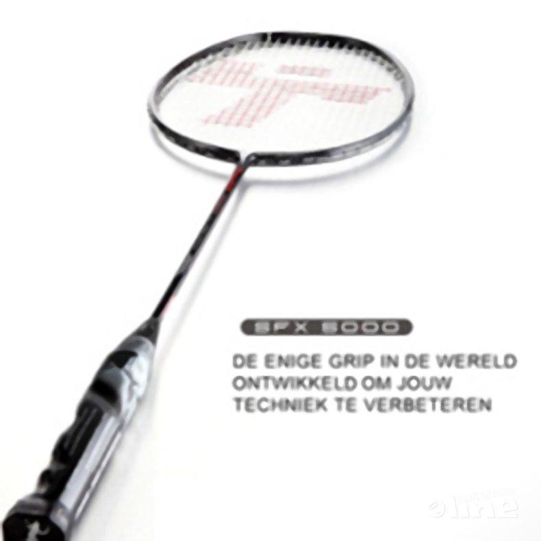 Deze afbeelding hoort bij 'Het badmintonmerk Thwack lanceert een heel bijzonder racket' en is gemaakt door Thwack