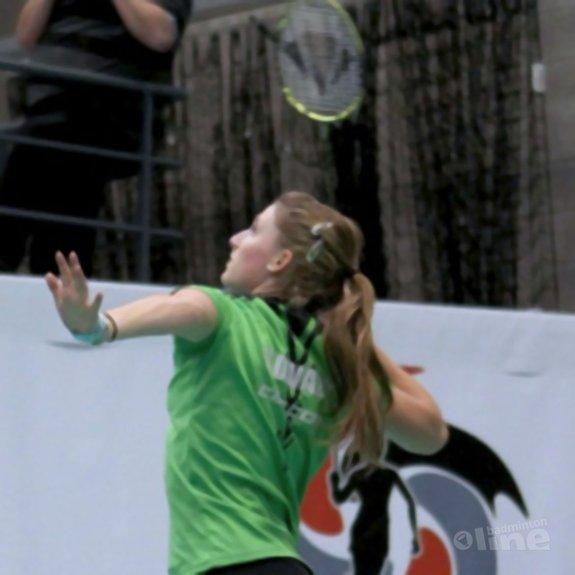Deze afbeelding hoort bij 'Kirsten van der Valk: 'Twee kwartfinales op Belgian Junior'' en is gemaakt door Alex van Zaanen