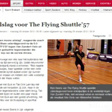 Dubbelslag voor The Flying Shuttle '57