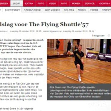 Dubbelslag voor The Flying Shuttle '57
