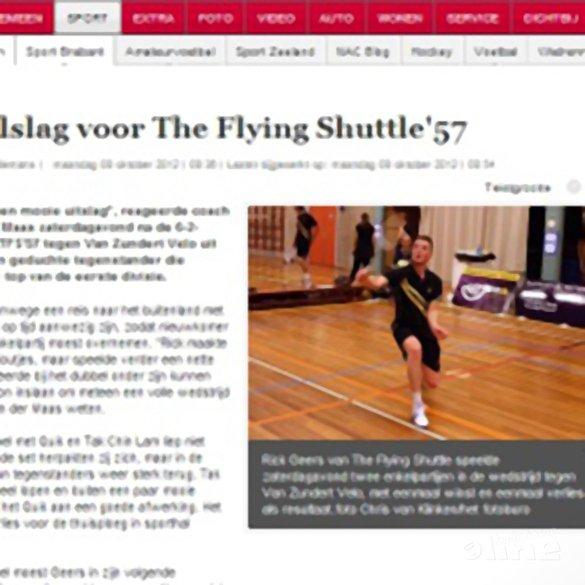 Dubbelslag voor The Flying Shuttle '57 - BN/DeStem - Chris van Klinken / het fotobureau