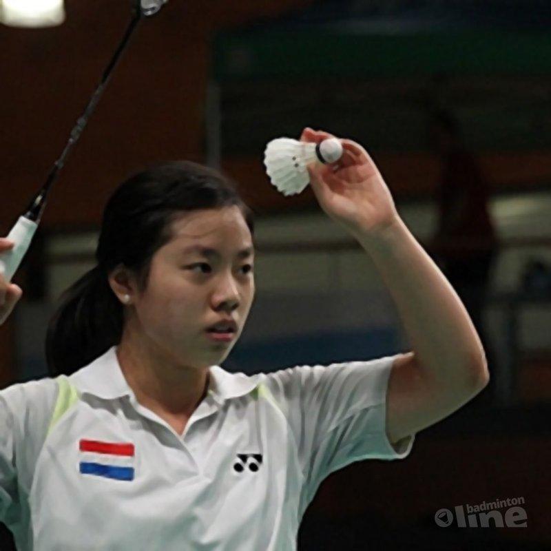 Jie, Stolzenbach en Meulendijks door op Yonex Dutch Open badminton - Alex van Zaanen