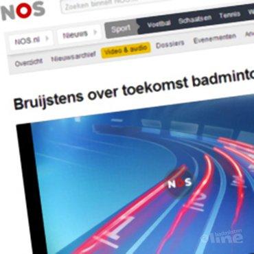 NOS Radio: 'Bruijstens over toekomst badminton'