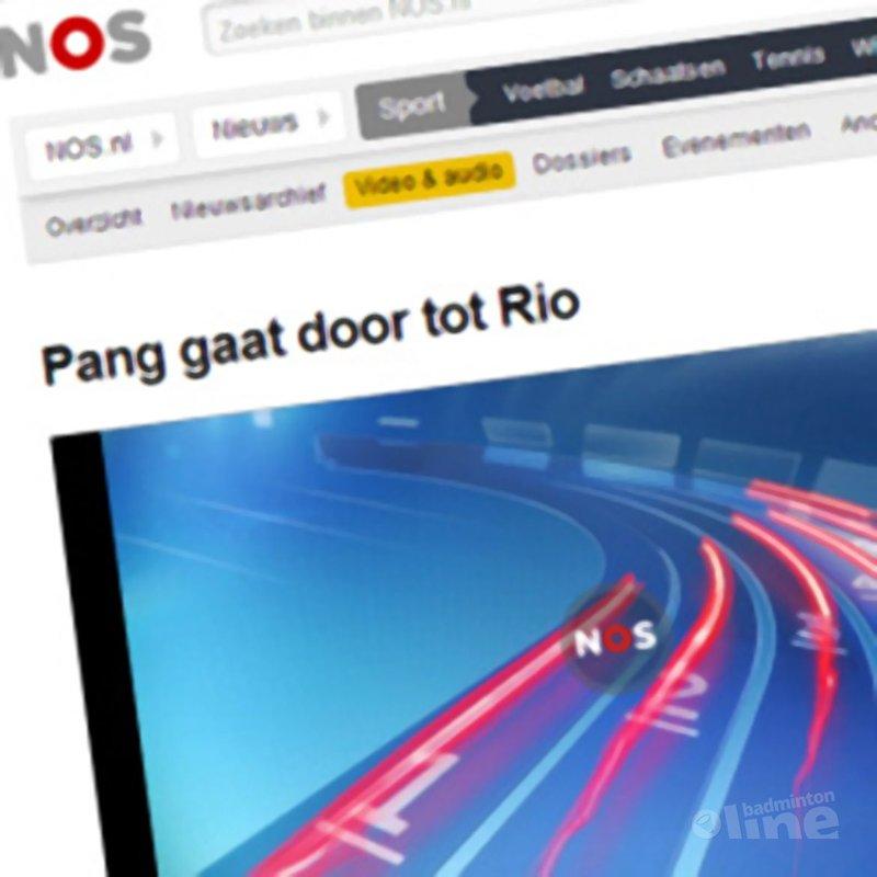 NOS Radio: 'Eric Pang gaat door tot Rio 2016' - NOS