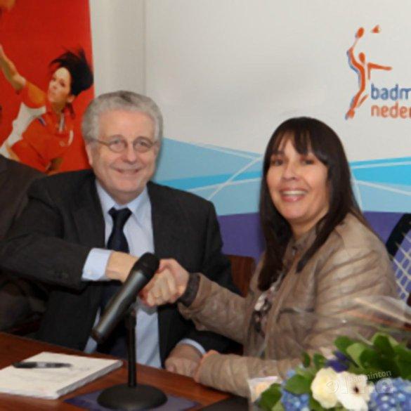 De reintegratie van technisch directeur Eline Coene bij Badminton Nederland - Alex van Zaanen