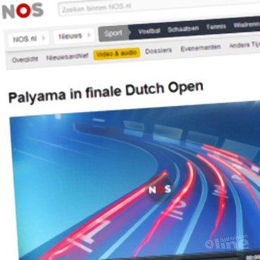 NOS Radio: 'Palyama in finale Dutch Open'