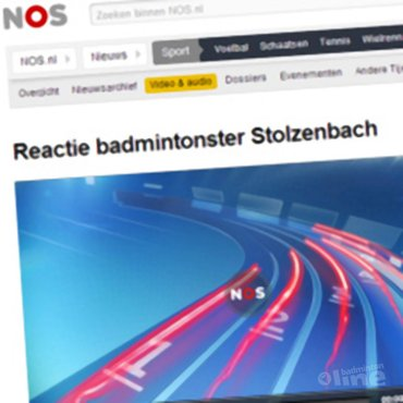 NOS Radio: 'Reactie badmintonster Patty Stolzenbach'