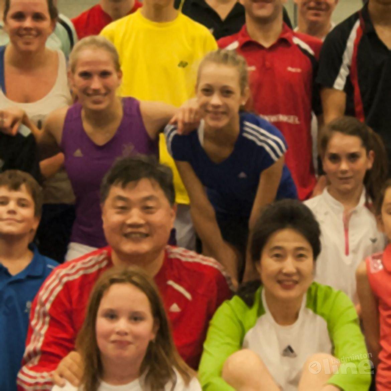 Succesvolle badmintonclinic bij BC Alouette
