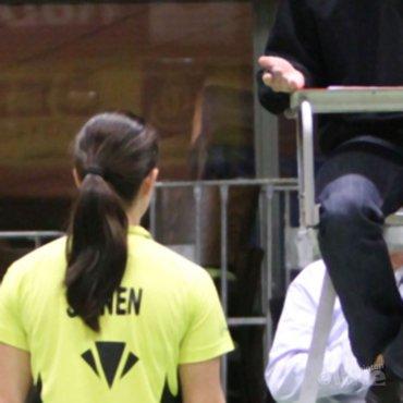Almere geeft Badminton Nederland scheidsrechter veeg uit de pan