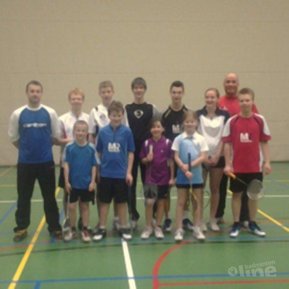 Deze afbeelding hoort bij 'Roel van Heuckelom bij de Badmintonschool Noord-Limburg' en is gemaakt door Badmintonschool Noord-Limburg
