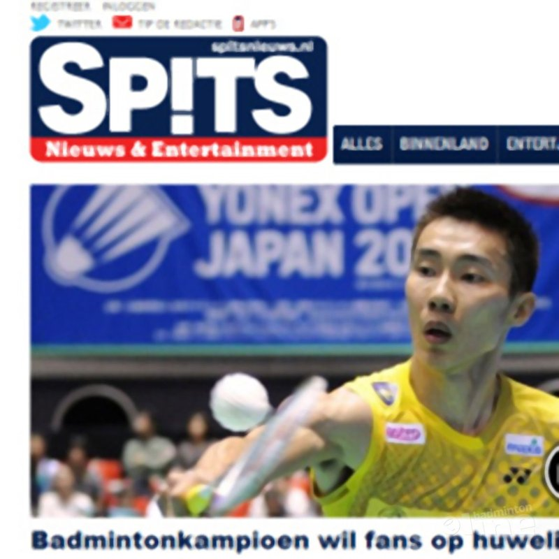 Spits: 'Badmintonkampioen wil fans op huwelijk' - Alex van Zaanen